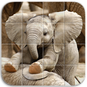 Tile Puzzle Baby Animals