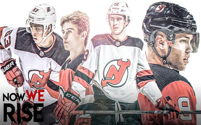 New Jersey Devils Themes & New Tab