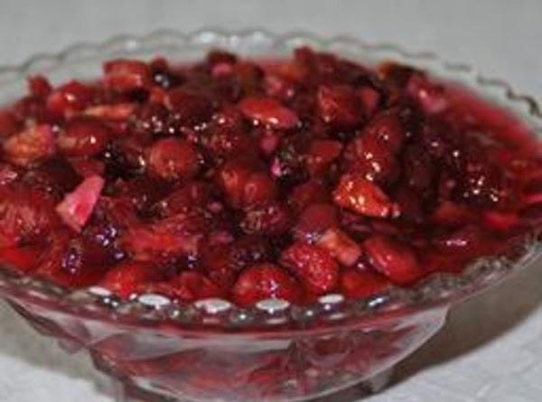 Brandied Cranberries Recipe