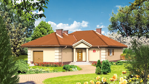 projekt Dom przy Zawilcowej