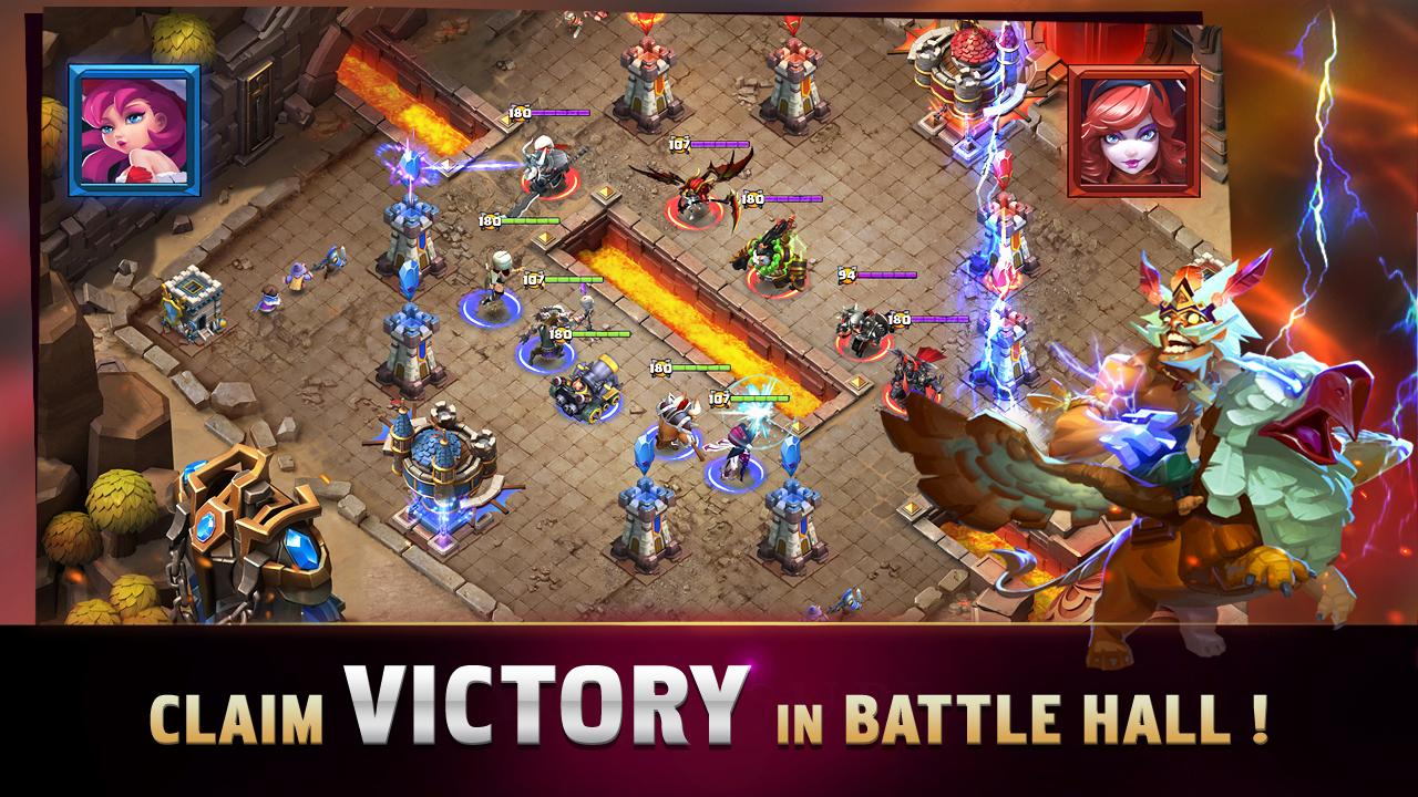 Screenshots of Clash of Lords for iPhone
