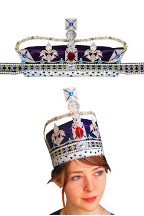 Pappkrona, diamant