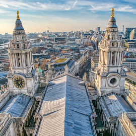 London by Gjunior Photographer - Buildings & Architecture Other Exteriors ( london, other exterior, cityscape, cathedral, architecture )
