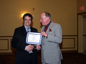 Photo: Robert Lefebvre of Goodkey Weedmark received a TEGA Award
