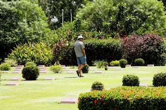 Photo: Year 2 Day 215 - Rog Wandering Around the Cemetery