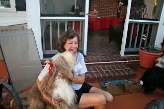 Photo: And Neela is thrilled to see GrandMa Mo