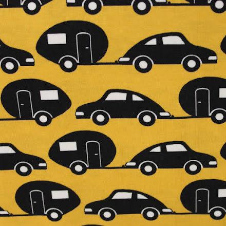 Bilsemester Trikå - gul