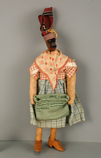 Doll:Haitian Woman with Cloth Bag