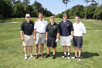 Photo: 2011 Varsity Club Golf Tournament held at Golden Eagle.
