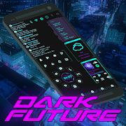 Dark Future Theme for KLWP
