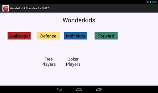 Wonderkid and Transfers for FM screenshot 12