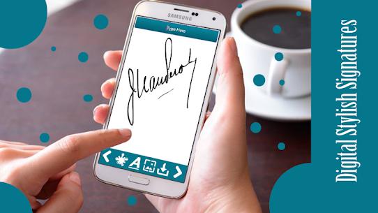 Digital Signature : E-Signature 9.7 APK with Mod + Data 2
