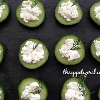 Easiest Cucumber Appetizers.