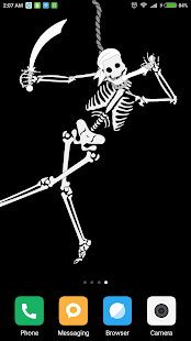 Cheerful Skeleton LWP - náhled