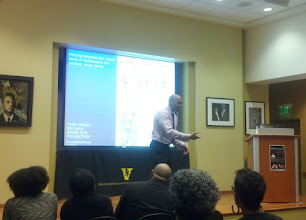 Photo: Dr. Muhammad during his talk