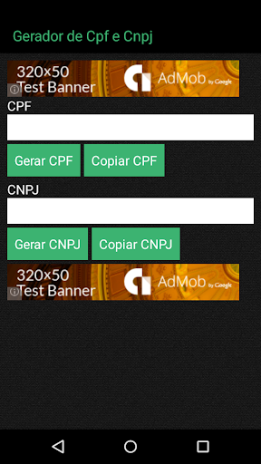 GeraDOC - Gerador de CPF CNPJ