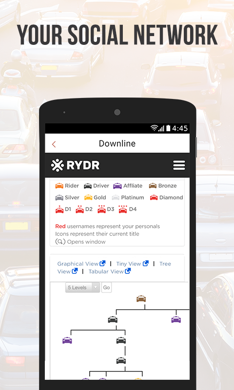 RYDR Passenger- screenshot