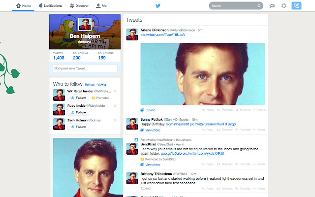 Same Picture of Dave Coulier