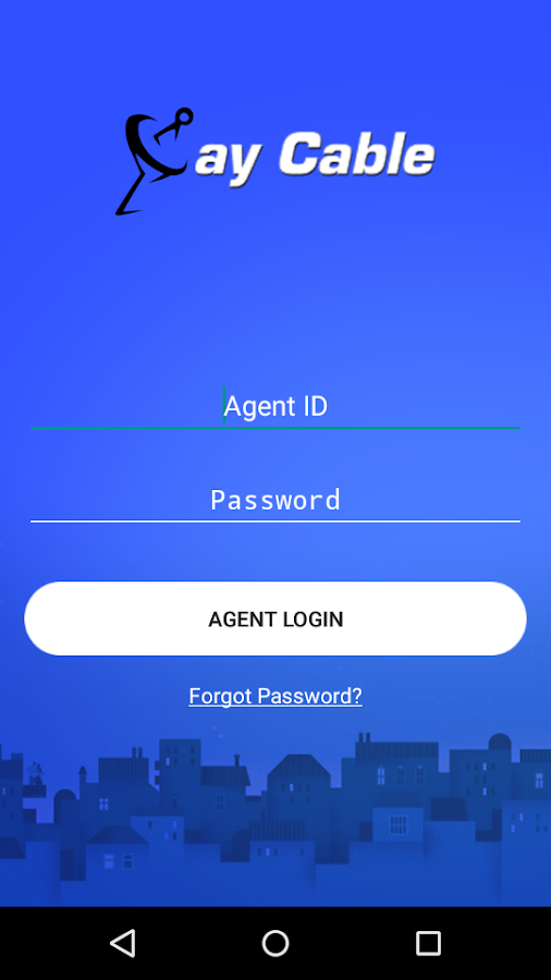 Paycable Collection Agent App- screenshot