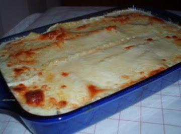 White Lasagna Recipe