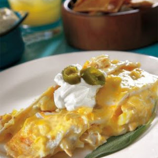 Chicken Enchilada Stack