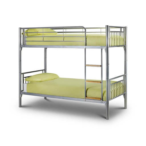 Julian Bowen Atlas Bunk Bed Aluminium