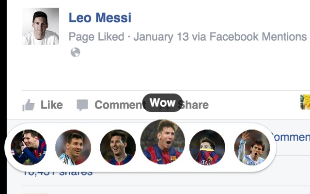 Lionel Messi Reactions