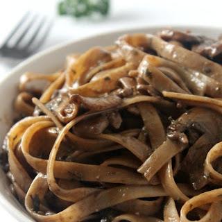 Balsamic Mushroom Pasta.