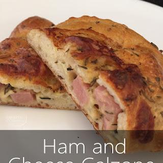 Ham and Cheese Calzone Freezer Friendly.