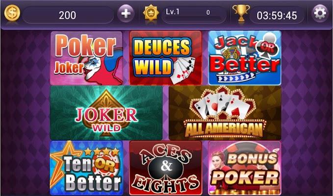 Video Poker - Jacks Or Better - screenshot