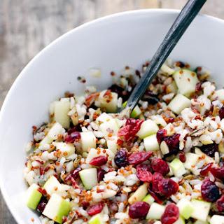Quinoa Cranberry And Apple Salad