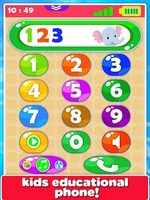 Baby Phone Fun For Toddlers- screenshot thumbnail