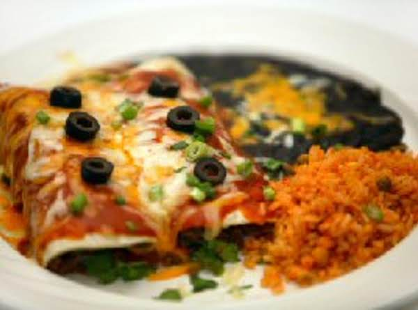 You Can Top Your Enchiladas Off With Olives, Sour Cream, Guacamole, Green Onions Or What Ever You Choose. Enjoy.