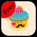 Theme for BBM - Cute Cupcakes
