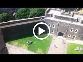 Video: View of Dover from the top of the castle.  Also seeing Cathi, Austin, Jacob and Mom in the inner garden.