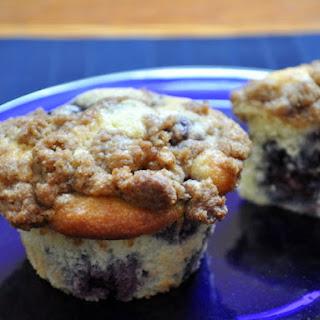 Blackberry Crumb Muffins.