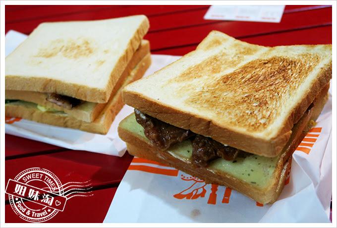 伯阿炭烤三明治古早味燒肉3