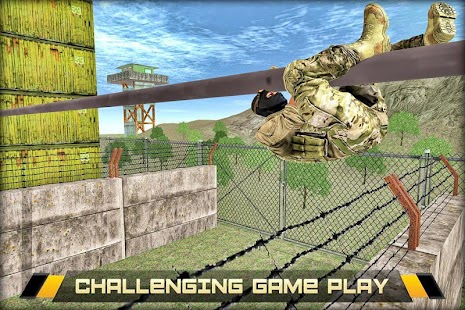 US Army Military Training Camp Screenshot