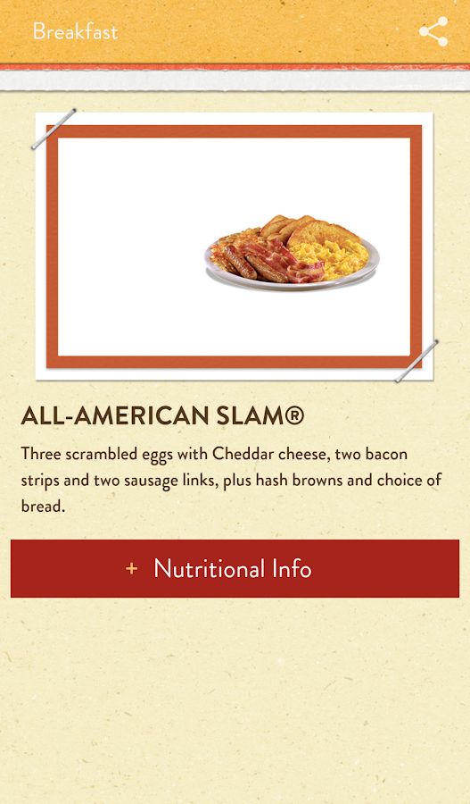Denny's - screenshot
