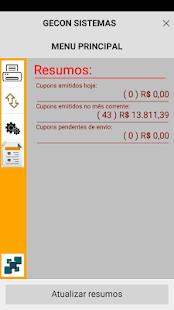 SATDroid - Emissor CFe-SAT - náhled