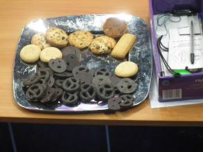 Photo: speciale scheidrechters koekjes uit Polen...