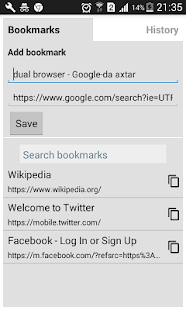 Dual Browser - Split Browser Pro Screenshot