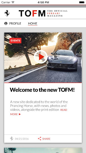 無料新闻AppのFerrari Mag|HotApp4Game