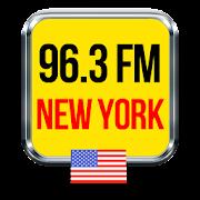 x 96.3 fm new york