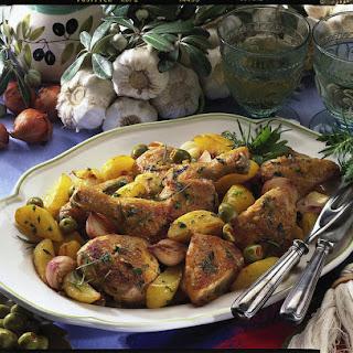 French Herb Chicken.