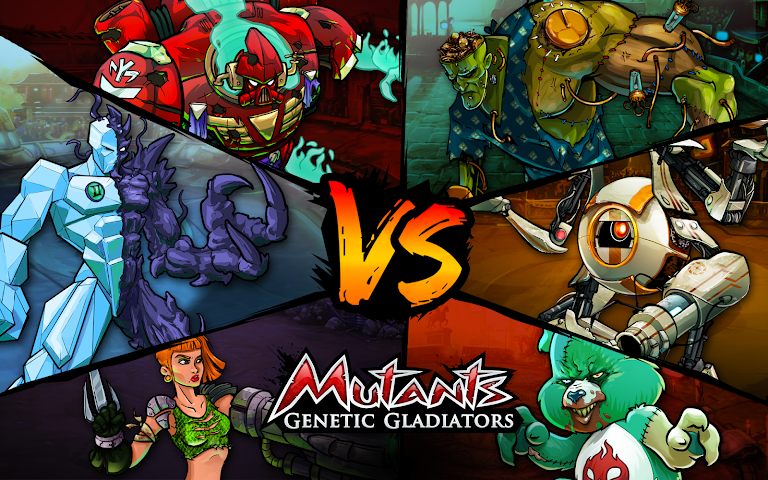 android Mutants: Genetic Gladiators Screenshot 6