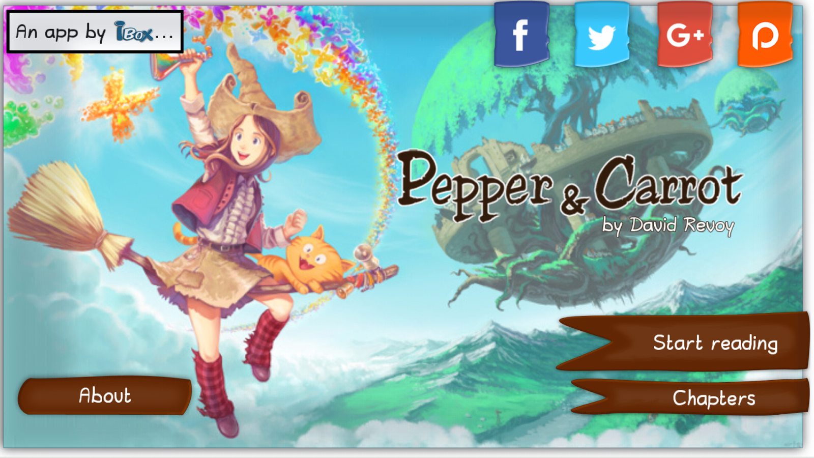 Pepper & Carrot- screenshot