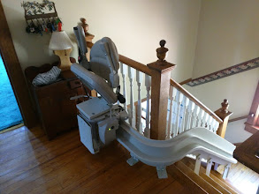 Photo: Cape May Curved Stairlift