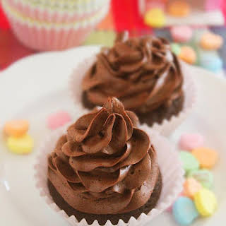 One Bowl Chocolate Cupcakes for Two.