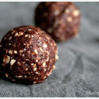 Energy Balls Peanut Butter Chocolate.